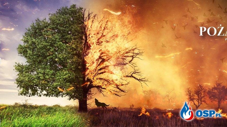 STOP POŻAROM TRAW OSP Ochotnicza Straż Pożarna