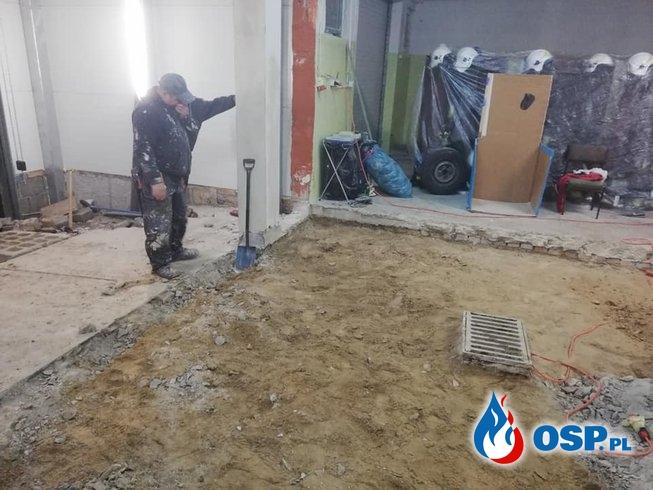 Remonty Jesienne Na Terenie Remizy! OSP Ochotnicza Straż Pożarna