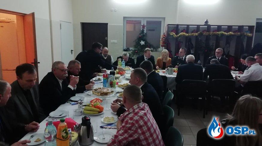 Spotkanie opłatkowe w OSP Wola Kopcowa. OSP Ochotnicza Straż Pożarna