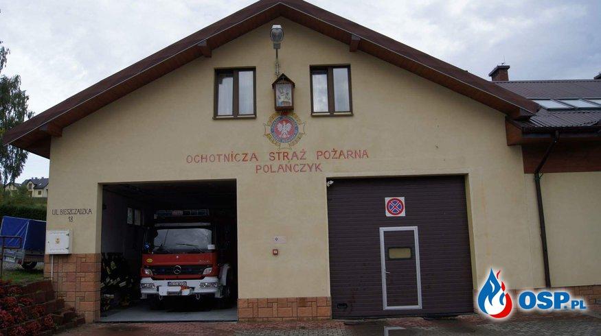 Pożar sadzy w Wołkowyji OSP Ochotnicza Straż Pożarna
