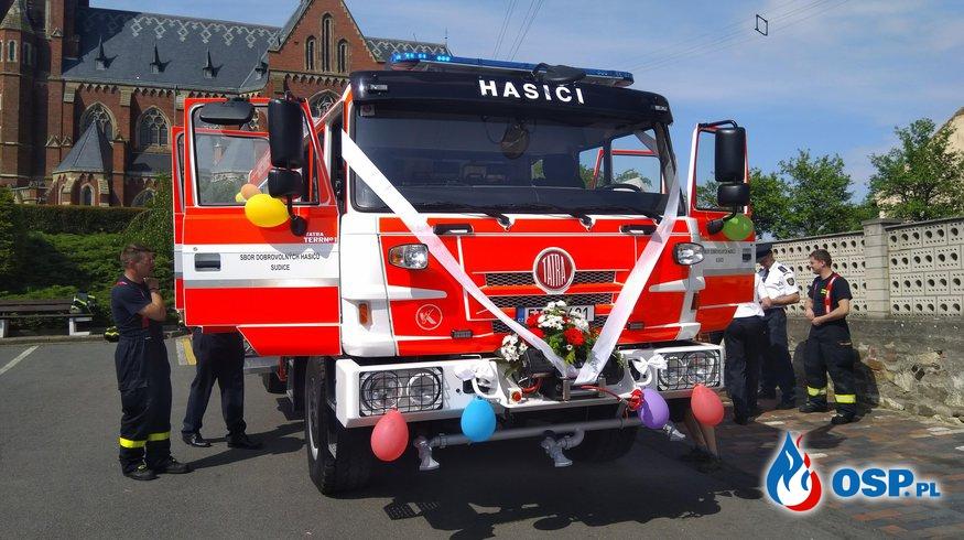 Nowy samochód w SDH Sudice OSP Ochotnicza Straż Pożarna