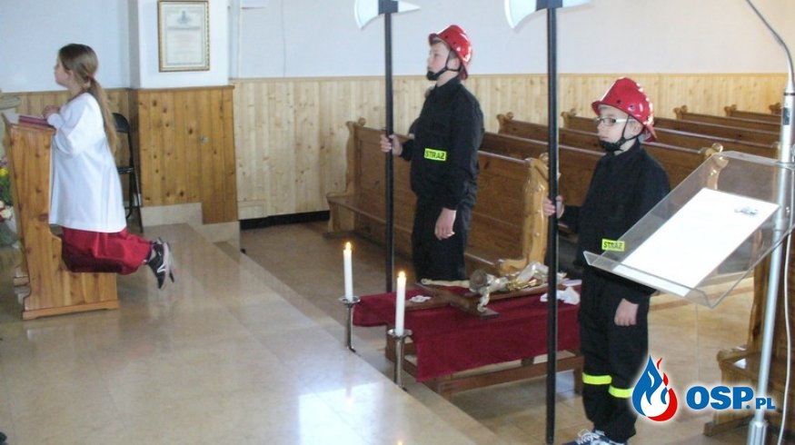 Warta przy Bożym Grobie OSP Ochotnicza Straż Pożarna