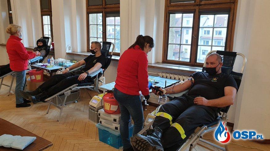 """Zawsze na straży - """"Oddaj Krew, Ocal Życie"""". OSP Ochotnicza Straż Pożarna"""