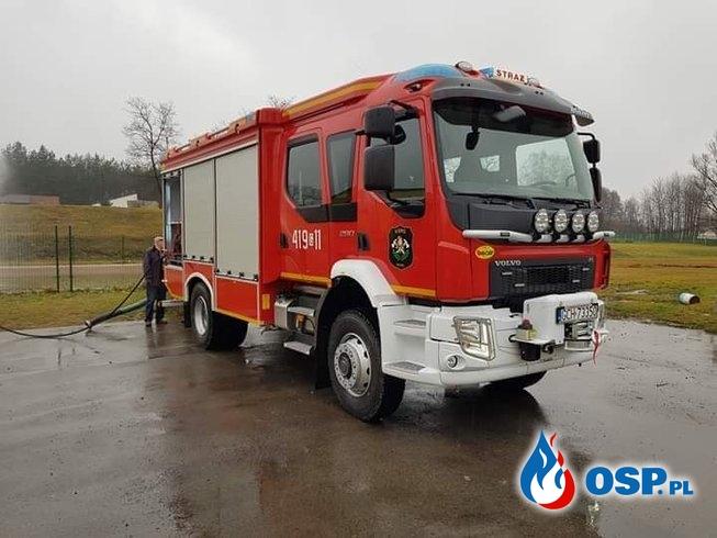 Nowy samochód dla OSP RYTEL OSP Ochotnicza Straż Pożarna