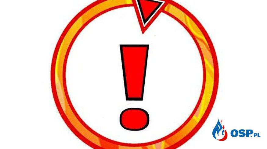 Wronki – pożar kosza na śmieci OSP Ochotnicza Straż Pożarna