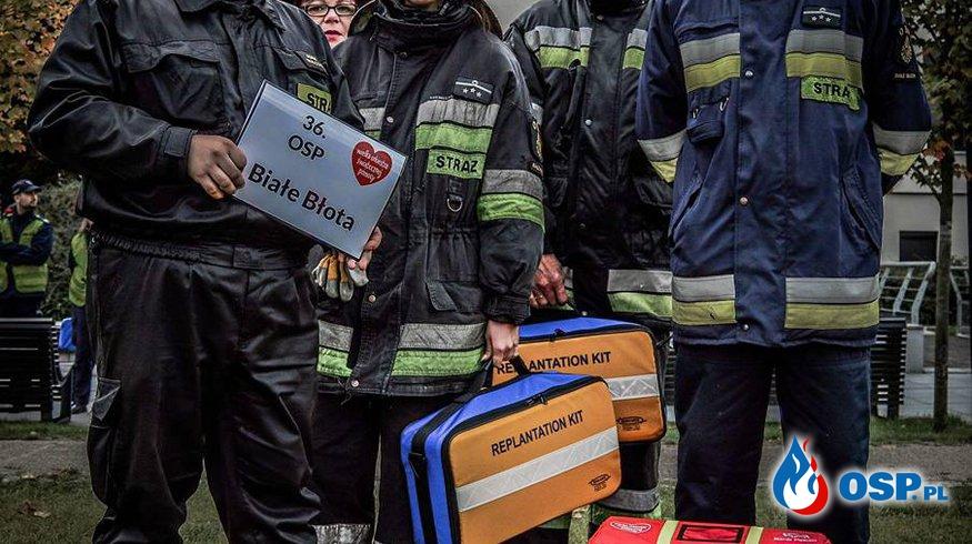 Dary od fundacji WOŚP OSP Ochotnicza Straż Pożarna