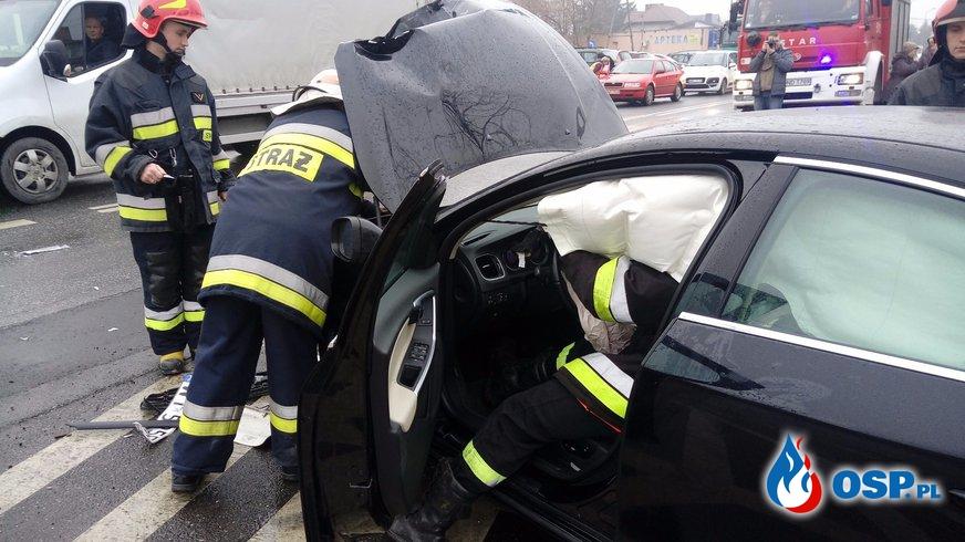 Dwa Wyjazdy Komin i Wypadek ! OSP Ochotnicza Straż Pożarna