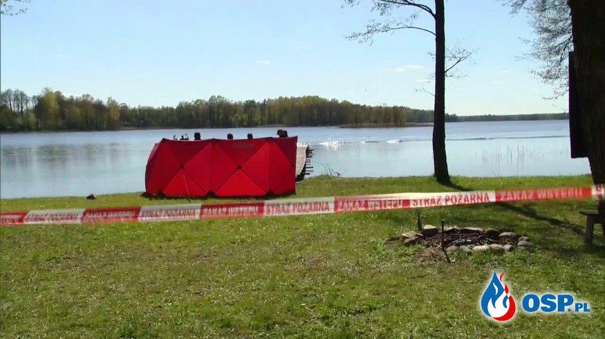 Tragiczny finał poszukiwań 44-letniego wędkarza. OSP Ochotnicza Straż Pożarna