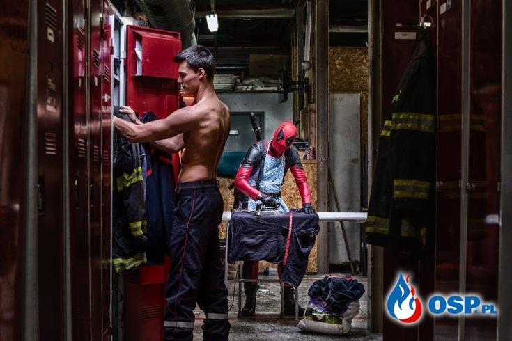Wyjątkowy kalendarz francuskich strażaków w świecie bajek i superbohaterów OSP Ochotnicza Straż Pożarna
