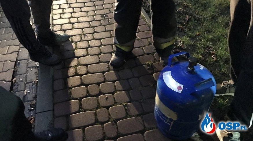 15/2020 Rozszczelnienie butli z gazem OSP Ochotnicza Straż Pożarna