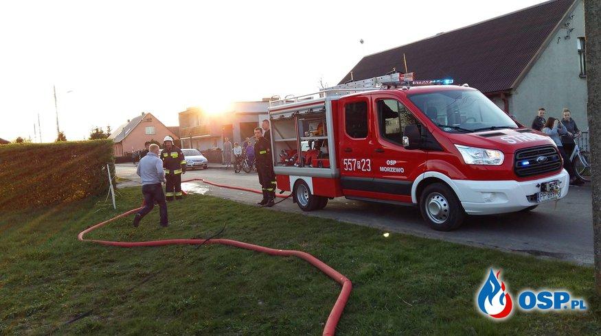 Pożar siana w Równopolu OSP Ochotnicza Straż Pożarna