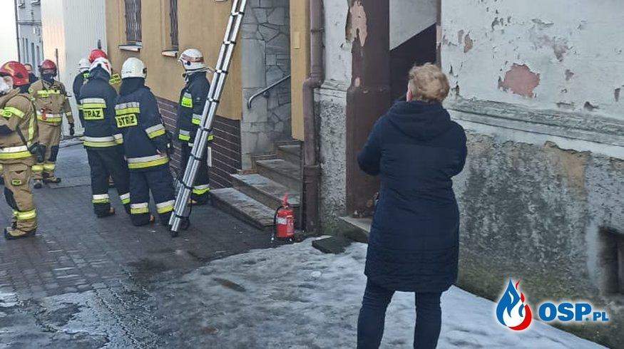 Pożar banku OSP Ochotnicza Straż Pożarna