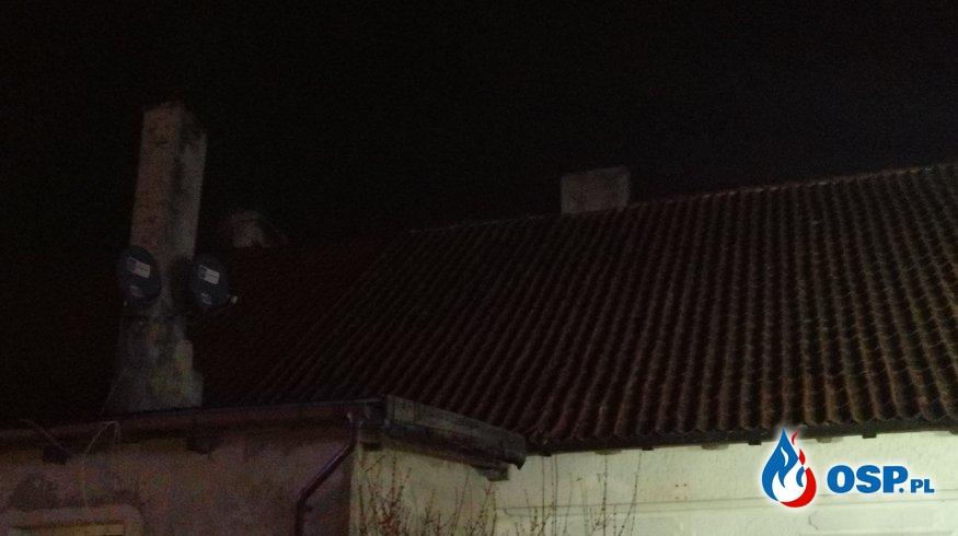Pożar przewodu kominowego w Tyrowie OSP Ochotnicza Straż Pożarna