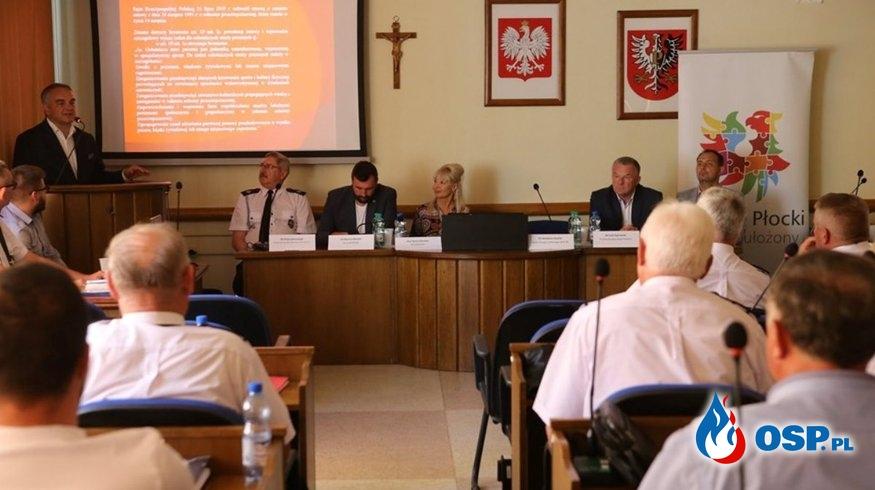 Spotkanie z Prezesem Zarządu Głównego ZOSP RP Waldemarem Pawlakiem OSP Ochotnicza Straż Pożarna