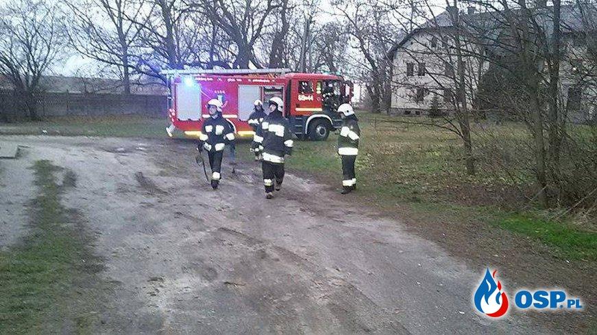 Pracowity grudzień Naszej jednostki OSP Ochotnicza Straż Pożarna