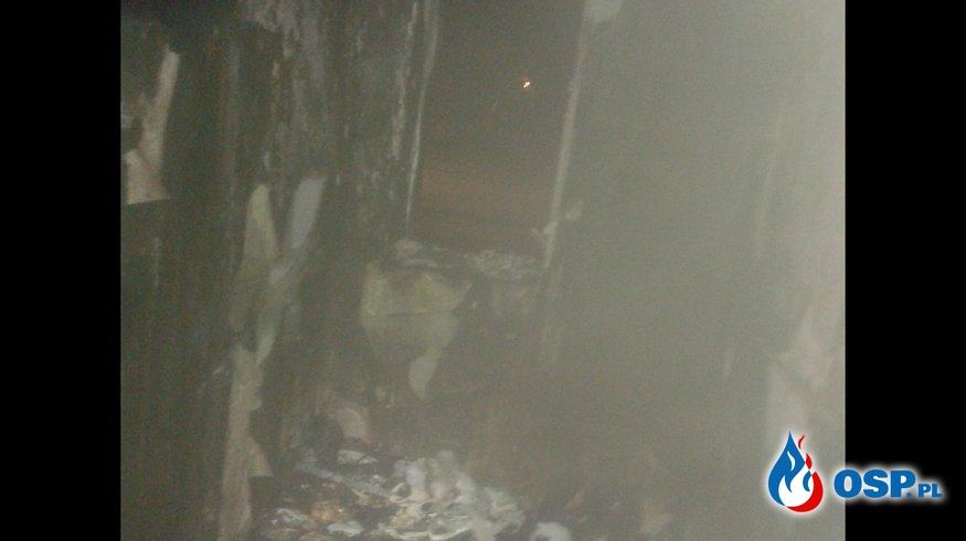 Pożar budynku mieszkalnego OSP Ochotnicza Straż Pożarna