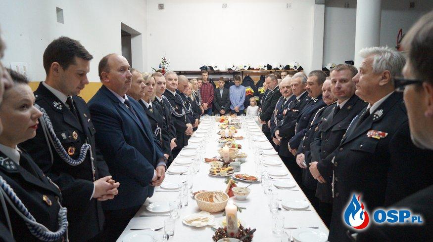 Spotkanie opłatkowe OSP. Bińcze 17.12.2016r. OSP Ochotnicza Straż Pożarna