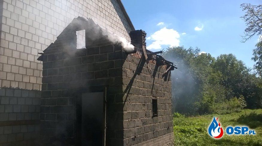 Pożar Suszarni Tytoniu OSP Ochotnicza Straż Pożarna
