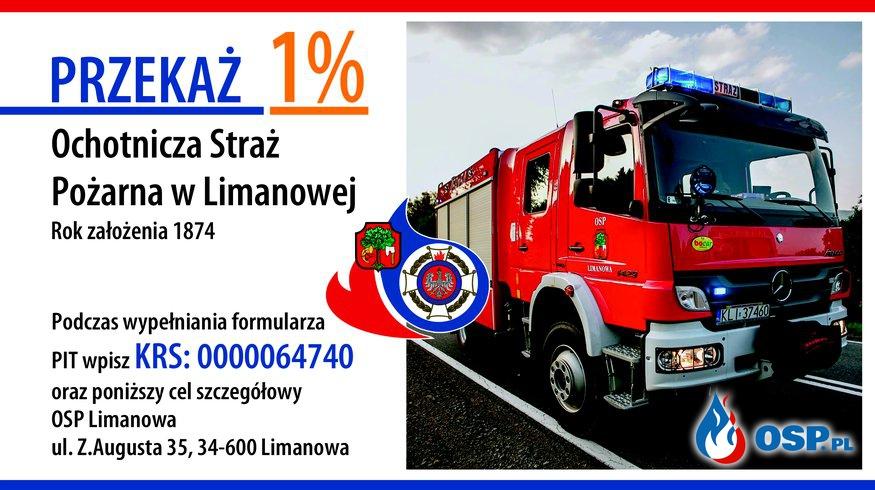 1% podatku !!! OSP Ochotnicza Straż Pożarna