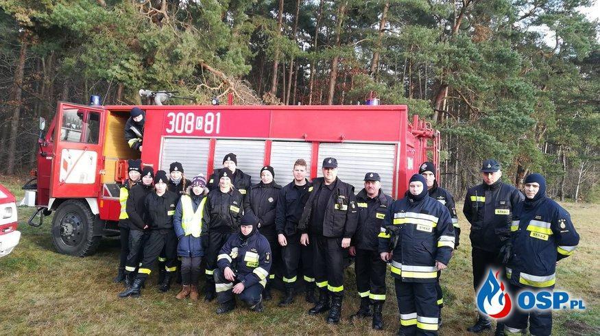 Zabezpieczenie biegu  OSP Ochotnicza Straż Pożarna