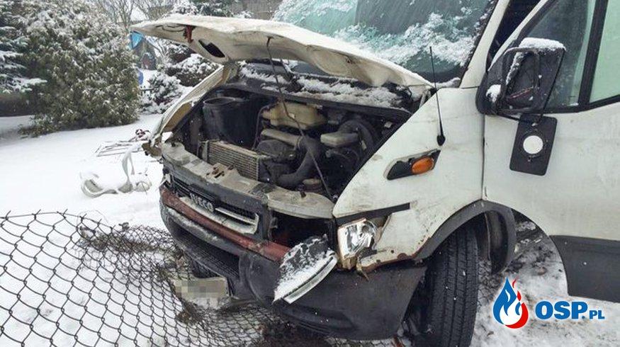 Wypadek - Samoklęski - Małe OSP Ochotnicza Straż Pożarna
