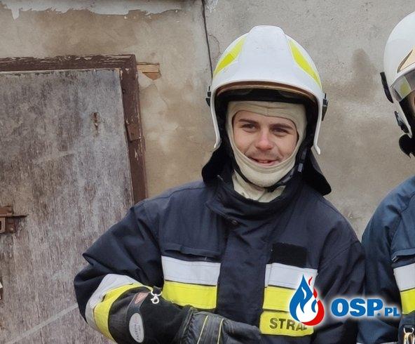 Strażak OSP miał koszmarny wypadek. Potrzebuje funduszy na rehabilitację i protezę ręki. OSP Ochotnicza Straż Pożarna