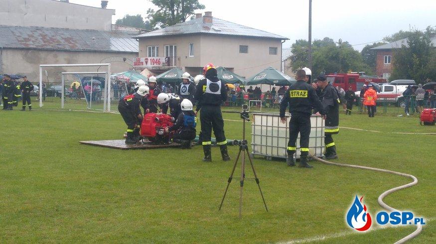 Strażacy ochotnicy rywalizowali na powiatowych zawodach sportowo-pożarniczych OSP Ochotnicza Straż Pożarna