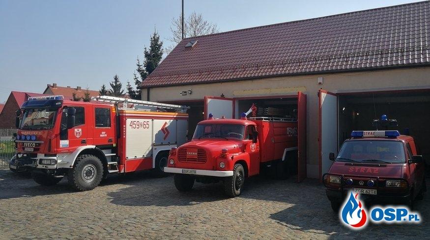Zadymienie w Piwnicy OSP Ochotnicza Straż Pożarna