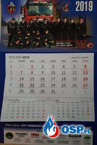 Kalendarze Strażackie 2019 OSP Ochotnicza Straż Pożarna