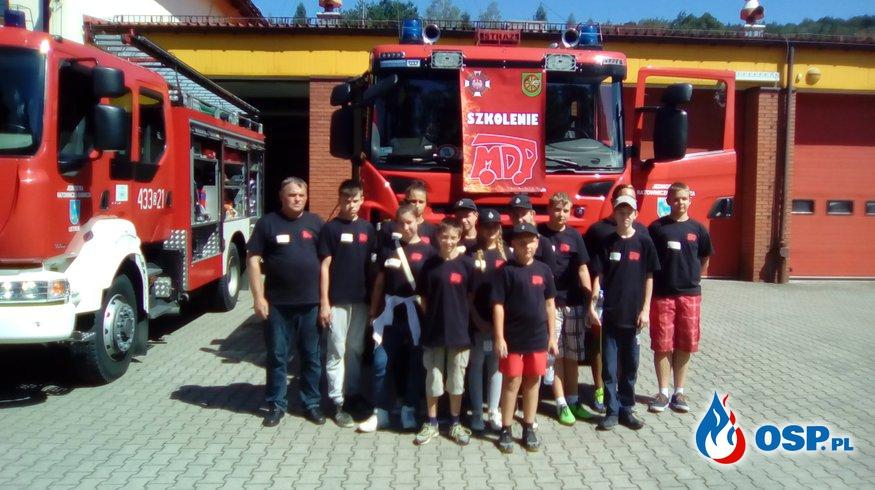 Młodzież w jednostkach JRG Cieszyn oraz JRG Ustroń OSP Ochotnicza Straż Pożarna