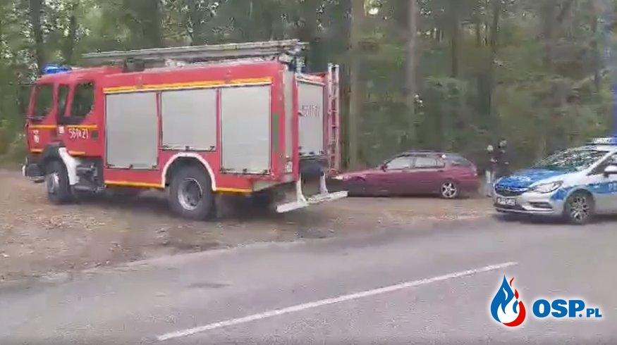 6 saperów rannych po wybuchu ładunku wybuchowego w Kuźni Raciborskiej. OSP Ochotnicza Straż Pożarna