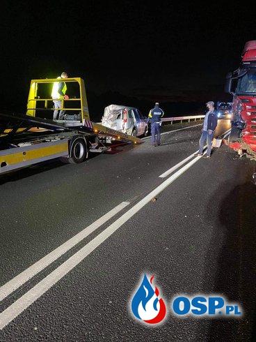 !!! Wypadek na DK-15. Poszkodowane dzieci !!! OSP Ochotnicza Straż Pożarna