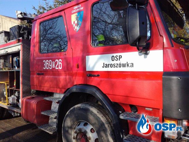 Zalana posesja - m. Gołaczów OSP Ochotnicza Straż Pożarna