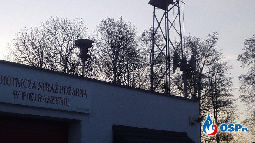 Bocianie gniazdo OSP Ochotnicza Straż Pożarna