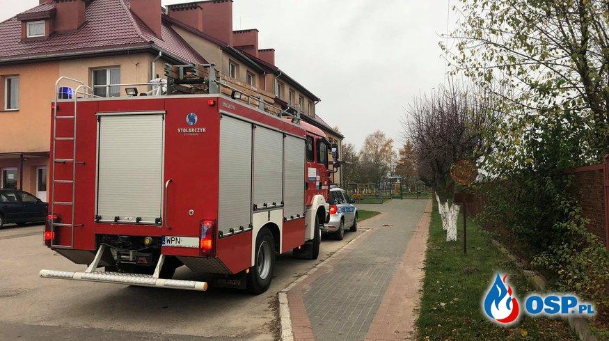 Fałszywy alarm OSP Ochotnicza Straż Pożarna