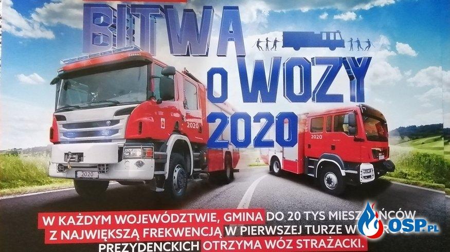 Bitwa o wozy 2020 OSP Ochotnicza Straż Pożarna