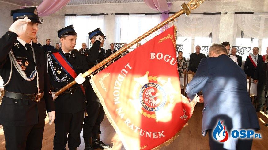 Odznaka Honorowa PCK dla OSP Bielsko OSP Ochotnicza Straż Pożarna