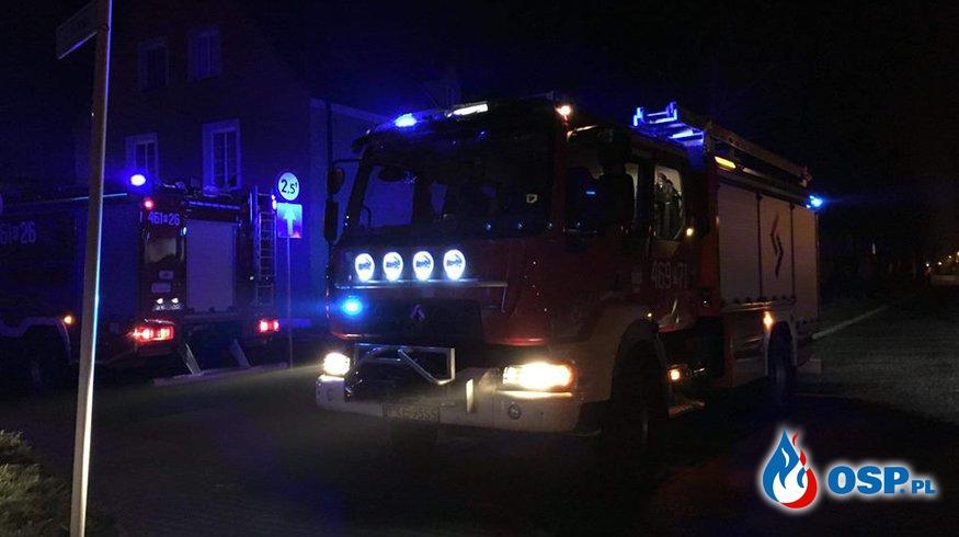 Pożar w kotłowni [6/2018] OSP Ochotnicza Straż Pożarna