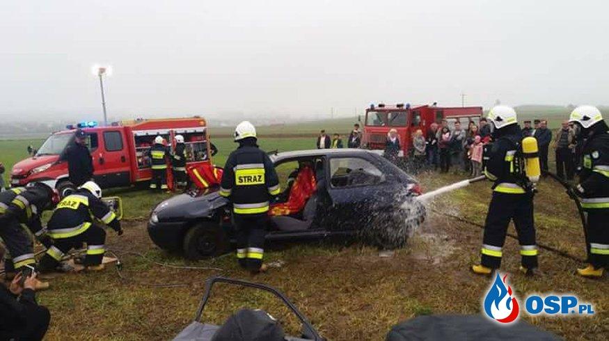 Pokaz ratownictwa technicznego OSP Ochotnicza Straż Pożarna