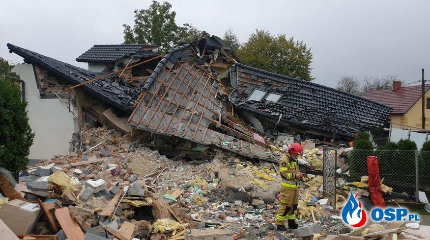 Strażacy i przyjaciele zbierają pieniądze na odbudowę domu strażaka OSP Ochotnicza Straż Pożarna