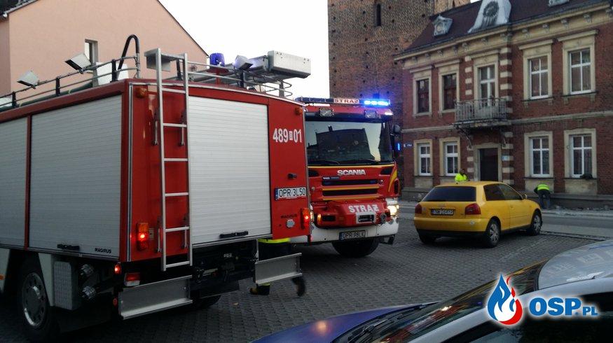 Pożar klatki schodowej w budynku wielorodzinnym w Białej OSP Ochotnicza Straż Pożarna