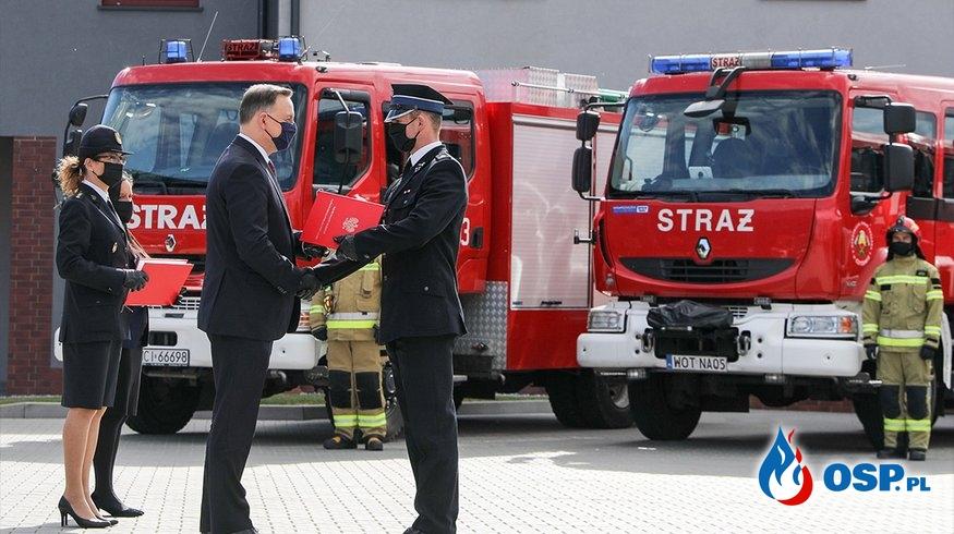 27 nowych wozów trafi do OSP województwa mazowieckiego OSP Ochotnicza Straż Pożarna