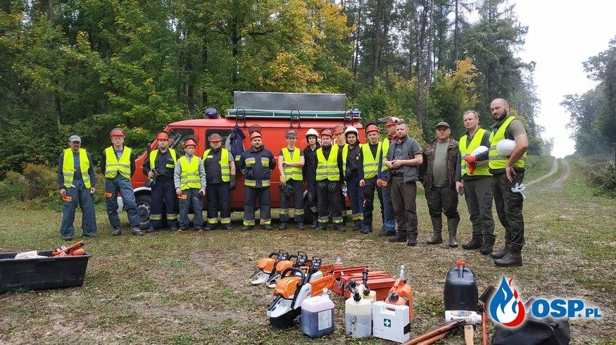 Kurs Pilarz - Drwal. OSP Ochotnicza Straż Pożarna