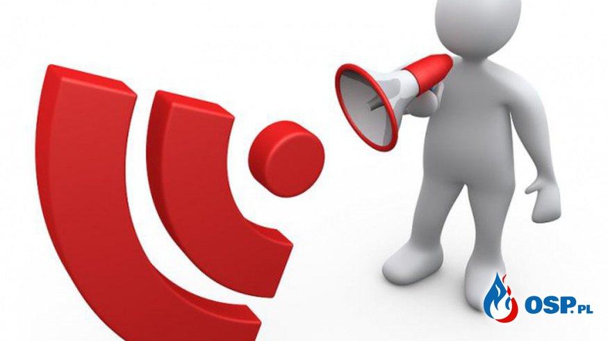 Informacja o zebraniu walnym. OSP Ochotnicza Straż Pożarna