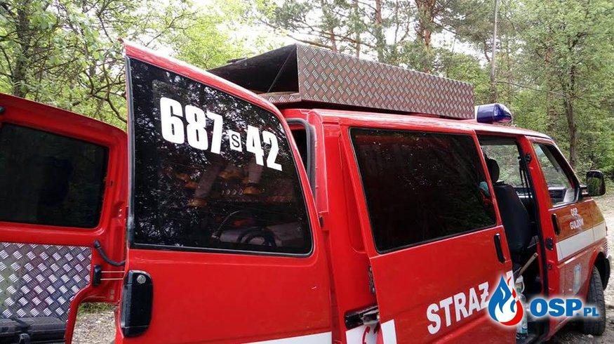 Usuwanie Barszczu Sosnowskiego OSP Ochotnicza Straż Pożarna