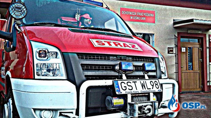 Wypadek Leśna Jania OSP Ochotnicza Straż Pożarna
