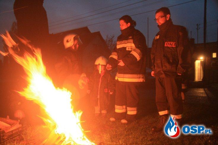 Upamiętnienie 1050 rocznicy Chrztu Polski przez OSP Brzeźce OSP Ochotnicza Straż Pożarna