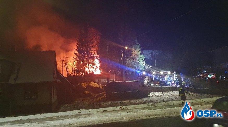 """Wybuch gazu w Szczyrku. """"Nie ma domu"""". OSP Ochotnicza Straż Pożarna"""