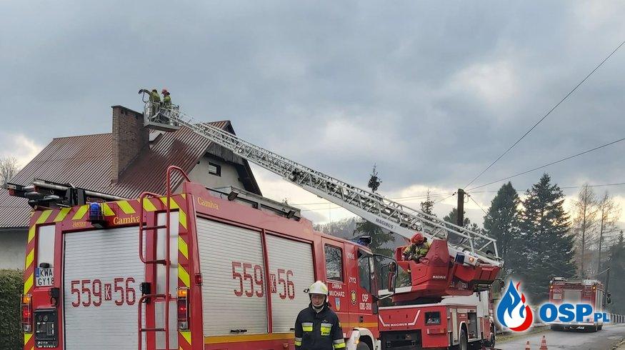 Alarm 35/2020 OSP Ochotnicza Straż Pożarna