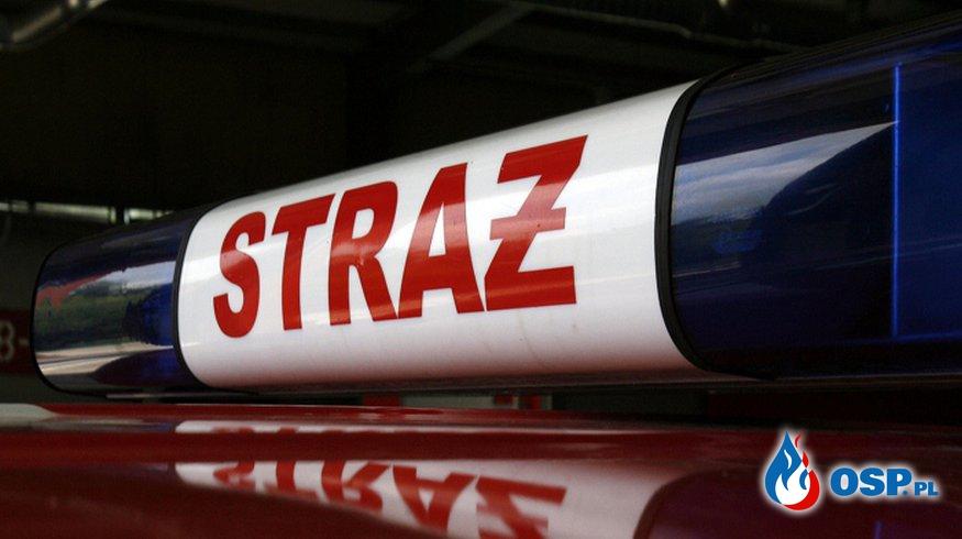 30.05 - Wypadek drogowy OSP Ochotnicza Straż Pożarna